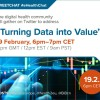"""Tweet Chat: """"Turning data into value"""" #eHealthChat"""