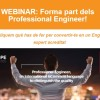 AQPE WEBINAR 8 feb 2018: Forma part dels Professional Engineer!