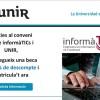 Màsters universitaris on-line amb beca del 40% de descompte per a col·legiats del COEINF