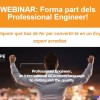 AQPE WEBINAR: Forma part dels Professional Engineer!