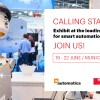 Call oberta a startups per Automatica Munich amb Mobile world Capital