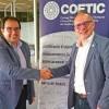 Signat un conveni de col·laboració entre el COETIC i el COEINF