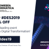 Compte enrere: passis professionals i descomptes Digital Business World Congress 2019 #DES2019