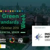 Invitació a la 9th green standards week (9a setmana de les normes verdes) de l'1 al 4 d'octubre a València