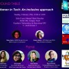 "Dimarts 25/02/2020: ""Women in Tech: An inclusive approach"" de 12:00 a14:00 a la FIB-UPC"