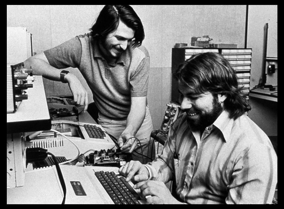 Jobs and Wozniak Apple