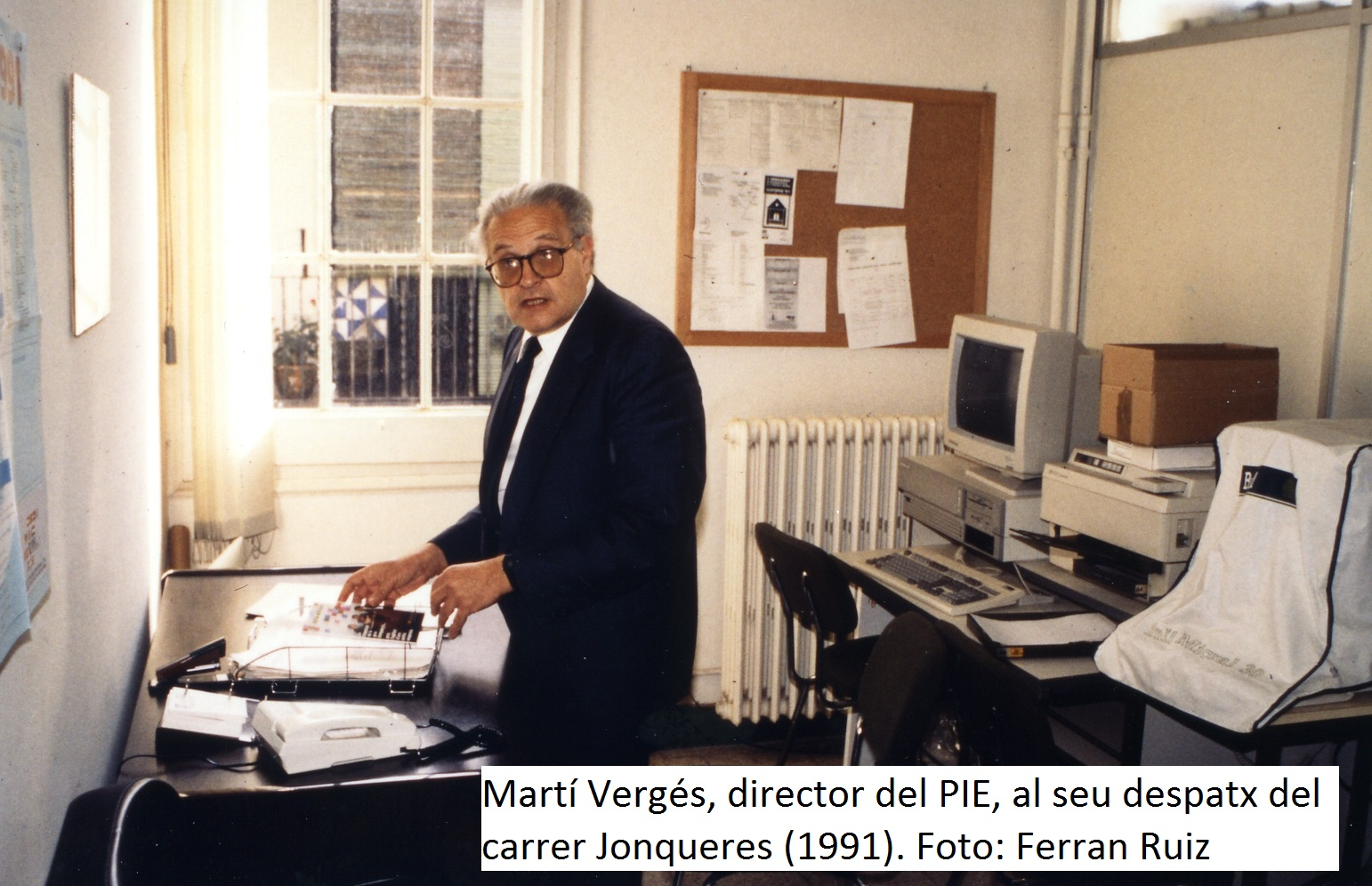 Marti Verges direcor del PIE 1991