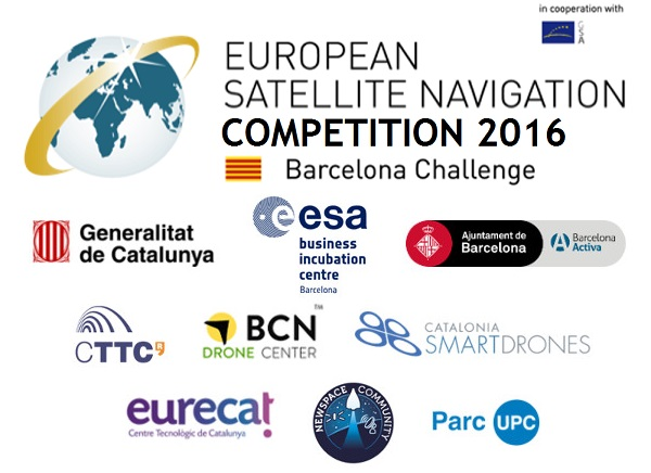 Presentacio de l European Satellite Navigation Competition 2016