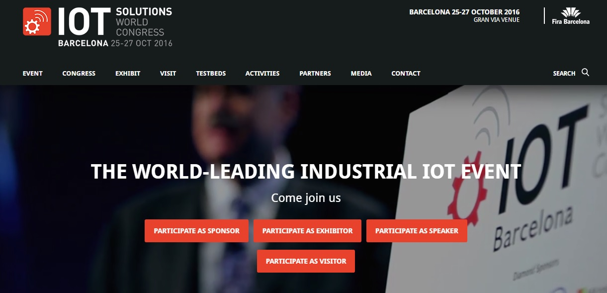 IOT World Congress Barcelona web