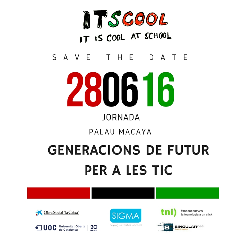 Itscool- Save de date 280616