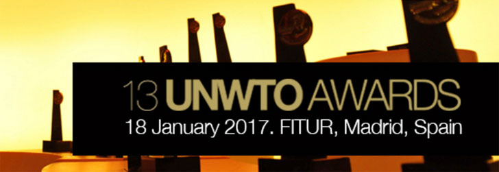 13th UNWTO Awards for Excellence and Innovation in Tourism