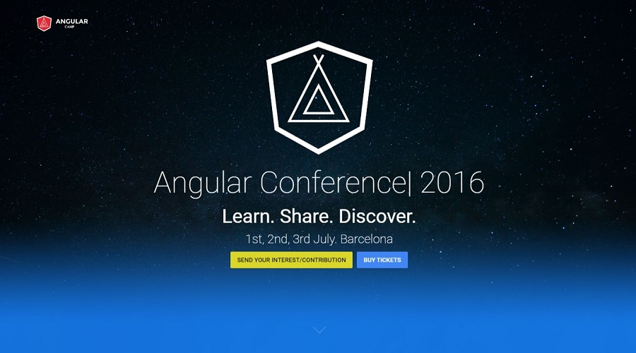 Angular camp conferencie Barcelona 2016