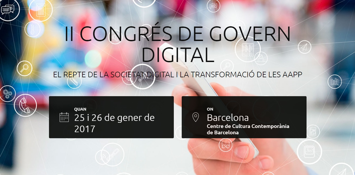 II Congres de govern digital