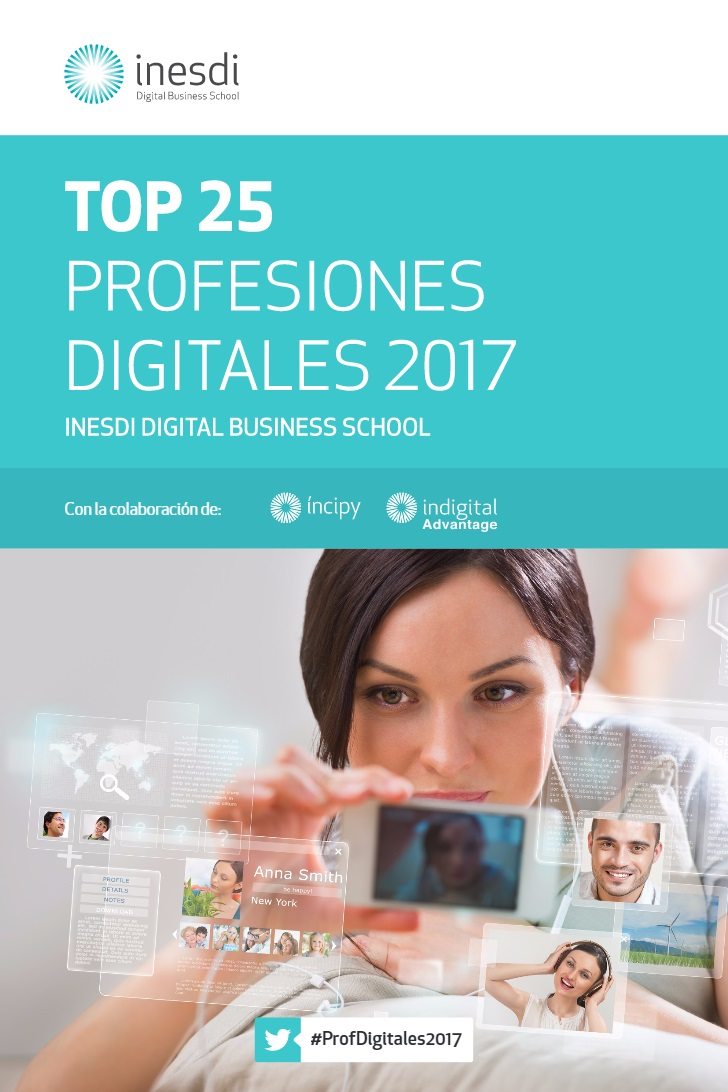 TOP 25 profesiones digitales 2017