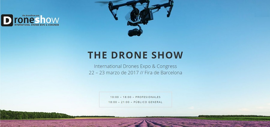 The drone show web